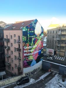 Mural in der Brunnenstraße