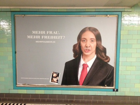 Kampagne: Mehr Frau? Mehr …?