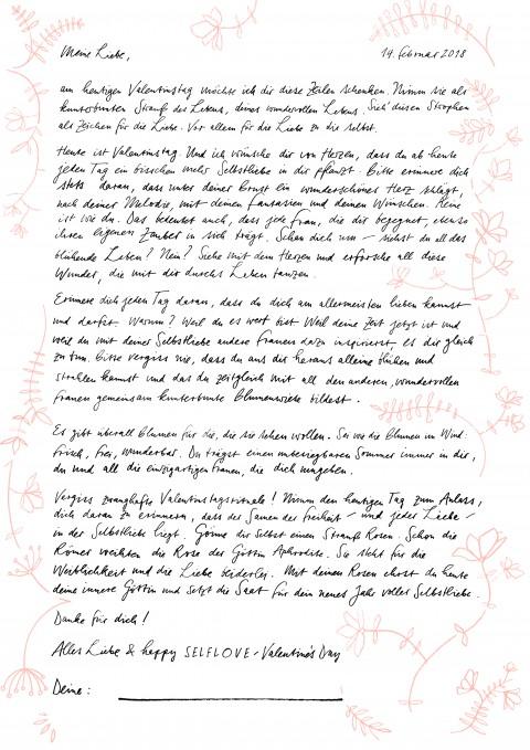SPREAD THE SELFLOVE – Der LIBERTINE Liebesbrief