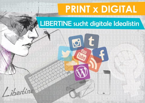 LIBERTINE Sucht Digitale Idealistin