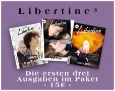 LIBERTINE 1, 2 Und 3 Im Paket