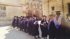 Graduation An Der University Of Oxford.
