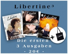 LIBERTINE 1, 2 Und 3 + Jutebeutel