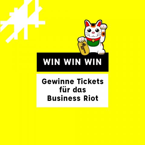 Verlosung: Business Riot Festival