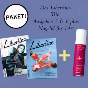 Libertine Ausgaben 5 & 6 Plus Nagelöl