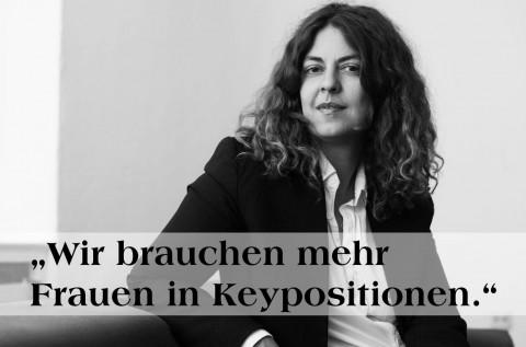 """""""Wir Brauchen Mehr Frauen In Keypositionen"""""""