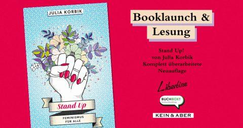 Booklaunch: Stand Up! Feminismus Für Alle