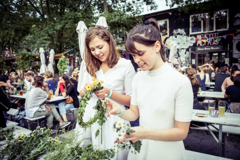 Nordisch Und Blumig: Das Berliner Midsommar Festival