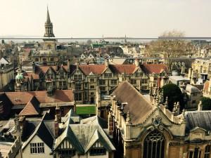 Für einen Studienausflug während ihres Bachelorstudiums kam Kristina zum ersten Mal nach Oxford.