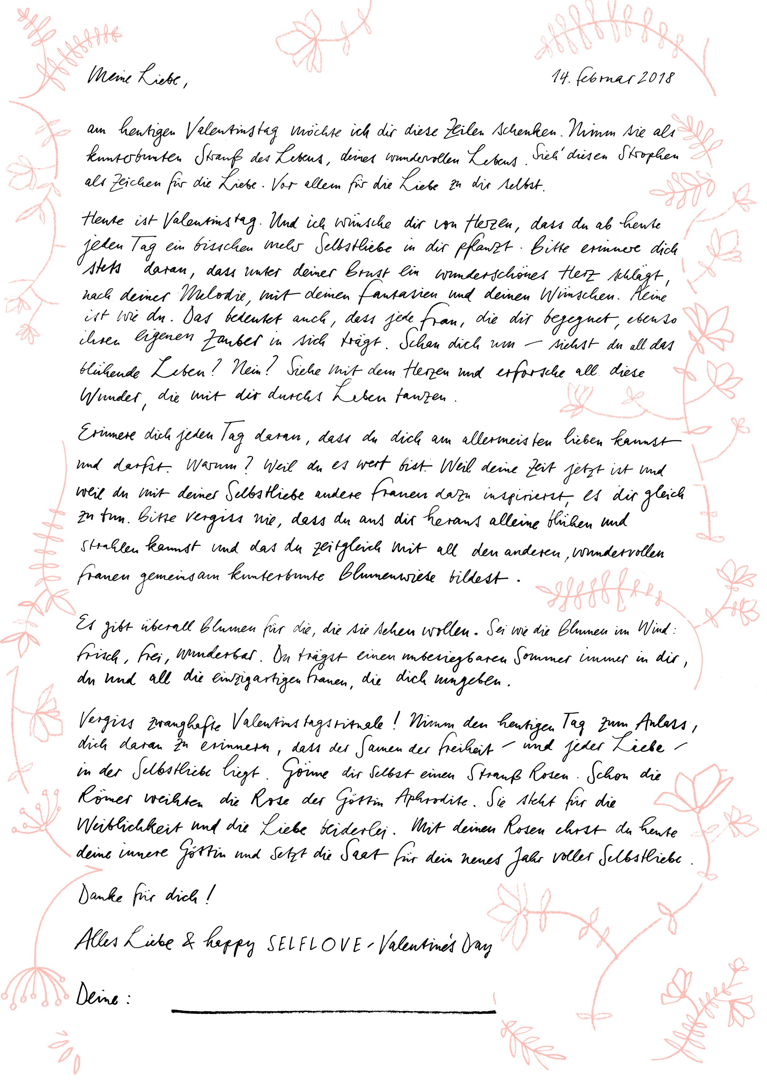 Schreiben liebesbrief brief Erotische Briefe