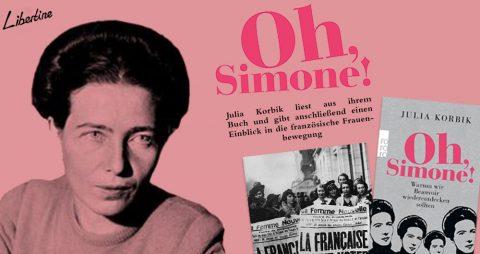 """Oh, Simone!"" – Lesung Und Vortrag"