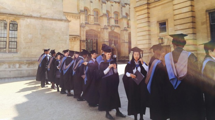 Graduation An Der University Of Oxford.