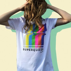Superqueer Shirt By Olivia Kalinowski For LIBERTINE
