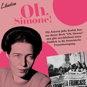 "Lesung & Talk ""Oh, Simone!"""