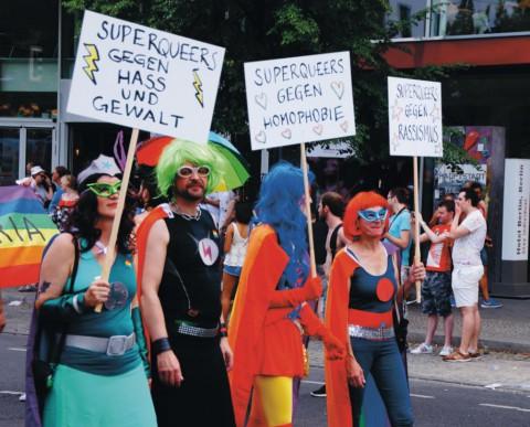 Bunt, Queer, Politisch – Berlin