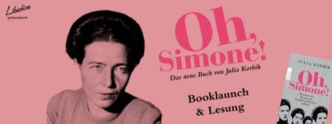 "LIBERTINE EVENT: Booklaunch ""Oh, Simone!"""
